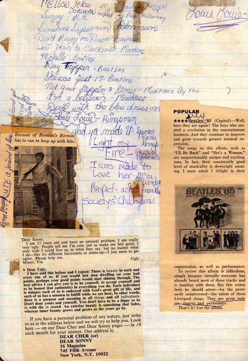 60s scrapbook
