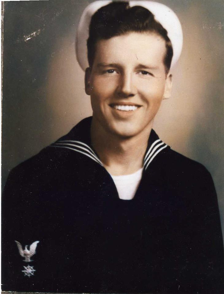 Dad Navy Photo